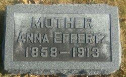 Anna <I>Ohaus</I> Effertz