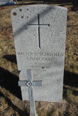 Walter Stephen Schofield