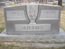 Marvin Lee Adams