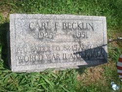 Carl F Becklin