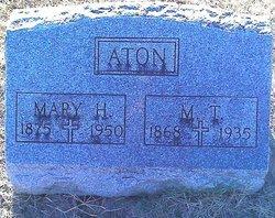 Mary Port <I>Hawkins</I> Aton