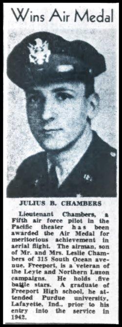 Dr Julius Burgess Chambers