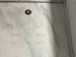 Bessie <I>Levy</I> Weill