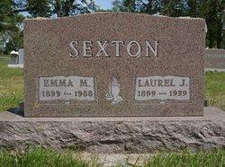 Emma Marie <I>Miller</I> Sexton