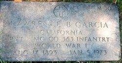 Lawrence B Garcia