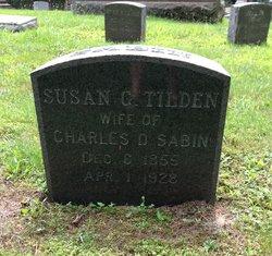 Susan Gould <I>Tilden</I> Sabin
