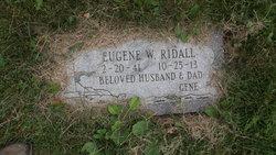 Eugene W. Ridall