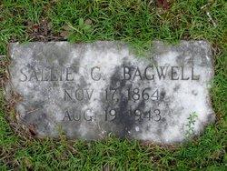 "Sarah J. ""Sallie"" <I>Conner</I> Bagwell"