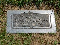 Cordelia Emma <I>Shetterly</I> Lomax