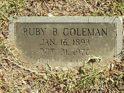 Ruby B. <I>Wood</I> Coleman