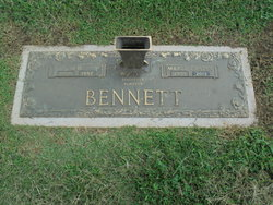 Marie <I>Carter</I> Bennett