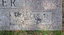 Frances Thelma <I>Robinson</I> Spicer
