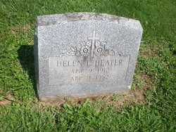 Helen L <I>Gellock</I> Heater