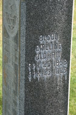 Emmaline <I>Oldham</I> Olsen