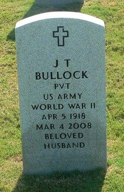J T Bullock