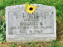 Margaret M Lane