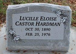 Lucille Elouise <I>Castor</I> Hardman