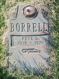 "Peter Donald ""Pete"" Borrelli"