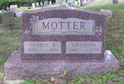 Lieutitia <I>Gordon</I> Motter