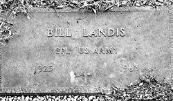 """William """"Billy"""" Landis"""