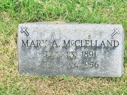 Mary A McClelland