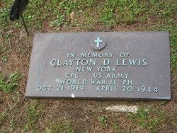 CPL Clayton D. Lewis