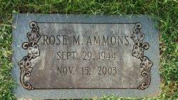 Rose Marie Ammons