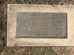Leonard Onis Bone