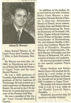 Adam Russell Warner