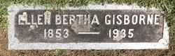 Ellen Bertha <I>Gisborne</I> Burchell