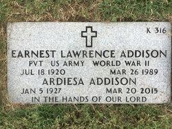 Earnest Lawrence Addison
