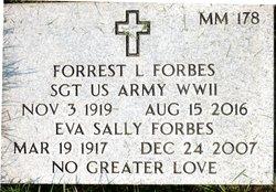 "Eva Luellen ""Sally"" <I>McCord</I> Forbes"