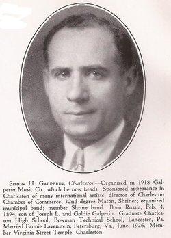 Simon Hirsch Galperin