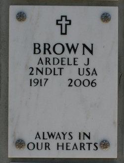 2LT Ardele Johanna Brown