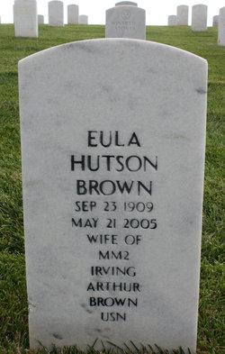 Eula <I>Hutson</I> Brown