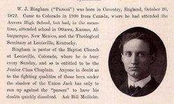 Dr William John Bingham