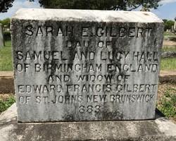 Sarah Elizabeth <I>Hall</I> Gilbert