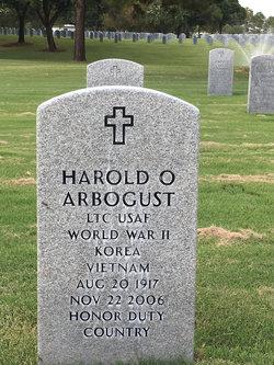 LTC Harold O. Hedge Arbogust, Sr