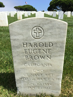 CWO Harold Eugene Brown