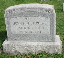Judge John B M Stephens
