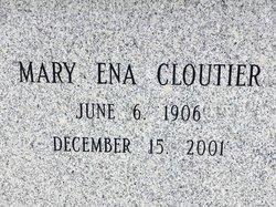Mary Ena <I>Dean</I> Cloutier