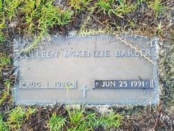 Doris Coleen <I>McKenzie</I> Barber
