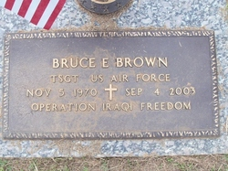 TSGT Bruce Eric Brown