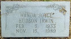 Wanda Joyce <I>Hudson</I> Irwin