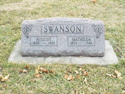 Swan August Swanson