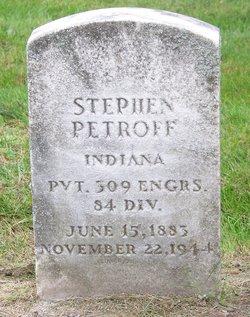 Stephen Petroff