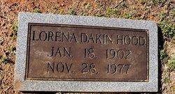 Lorena <I>Dakin</I> Hood