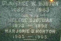 Helene <I>Bootman</I> Horton