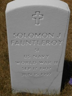 Solomon J Fauntleroy