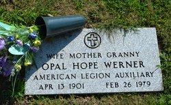 Opal H <I>Arbuckle</I> Werner
